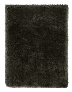 Posh Rug - 150cm x 210cm - Black Grey Mix | Shaggy Luxurious Rug