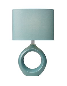 Isla Table Lamp - Powder Blue | Ceramic Soft Table Lamp