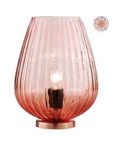 Pari Table Lamp - Blush | Pink Glass Flower Table Lamp
