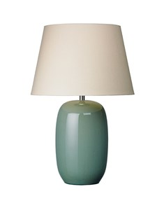Olivio Table Lamp - Pistachio | Ceramic Gloss Oval Table Lamp
