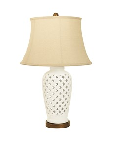 Capri Table Lamp | Cream Ceramic Table Lamp