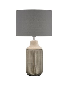 Ceramic Ribbed Table Lamp