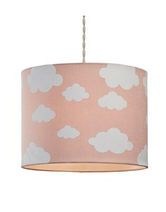 Cloudy Day Pendant Shade - Pink | Cloud Printed Shade