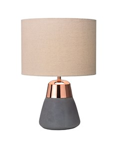 Jasper Copper & Grey Table Lamp | Concrete & Metallic Table Lamp