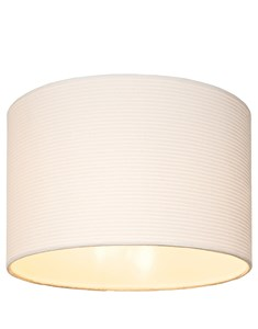 Ivory Corded Ceiling Pendant Shade