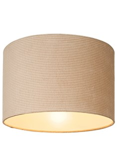 Taupe Corded Ceiling Shade