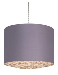 Dallas Pendant Shade - Lilac | Acrylic lampshade