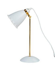 Kafe Deluxe Desk Lamp - White | Modern Desk Lamp