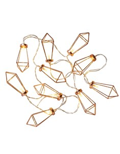 Diamond String Lights | Rose Gold Fairy Lights