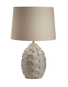 Elena Table Lamp | Large Warm Grey Table Lamp