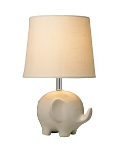 Ellie Table Lamp - Cream | Ceramic Animal Table Lamp