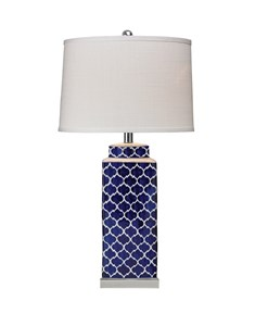 Aslan Table Lamp | Statement Blue Table Lamp