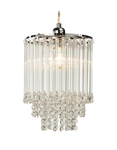 Lola Pendant Shade | Tiered Glass Ceiling Shade