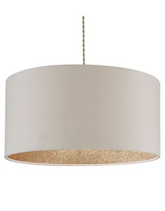 Gold Glitter Ceiling Shade