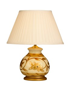 Christabelle Beige Table Lamp Base | Traditional Ceramic Lamp Base