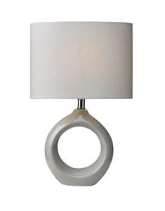 Isla Table Lamp - Soft Grey | Ceramic Soft Table Lamp