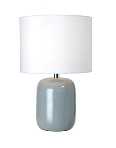 Fenda Table Lamp - Grey | Bedside Ceramic Table Lamp