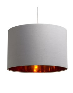 Bjorn Pendant Shade - Grey | Gold Inner Ceiling Shade