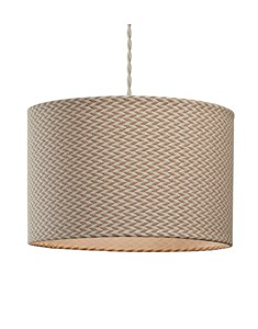 Herrington Pendant Shade | Herringbone Ceiling Shade