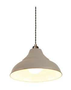 Vintage Pendant Shade - Grey | Metal Ceiling Shade