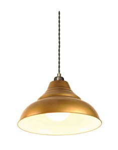 Vintage Pendant Shade - Antique Brass | Metal Ceiling Shade