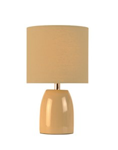Opal Table Lamp - Putty | Ceramic Neutral Bedside Lamp