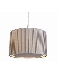 Wilson Pendant Shade - Grey | Pleated Ceiling Shade