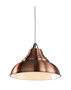 Vintage Pendant Shade - Antique Copper | Metal Ceiling Shade