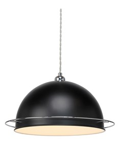 Bauhaus Pendant Shade - Black | Metal Ceiling Shade