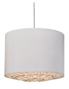 Dallas Pendant Shade - Ivory | Acrylic lampshade