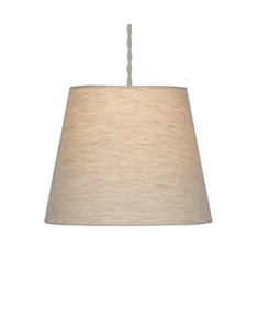 Linen Effect Plain shade - Oatmeal | Linen Effect lampshade