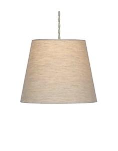 Linen Effect Plain shade - Oatmeal | Linen Effect lampshade