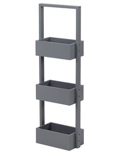 Edgeworth Storage Caddy - Grey | Versatile Storage
