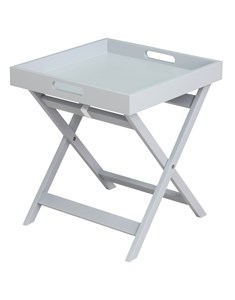 Javis Butler Tray - Grey | Foldable Side Table