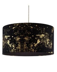 Frankie Pendant Shade - Black | Gold | Large Stylish Ceiling Shade