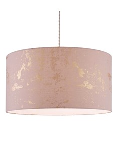 Frankie Pendant Shade - Blush Pink | Rose Gold | Large Stylish Ceiling Shade