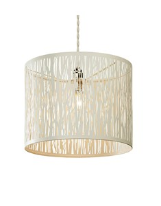 Donez Pendant Shade - Cream | Laser Cut Ceiling Shade