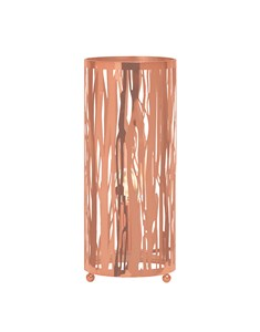 Laser Cut Table Lamp - Rose Gold