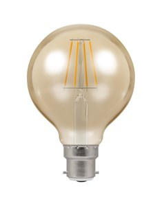 LED Globe Filament Bulb BC-B22d - Antique Bronze | Fashion Bulb