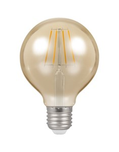 LED Globe Filament Bulb ES-E27 - Antique Bronze | Fashion Bulb