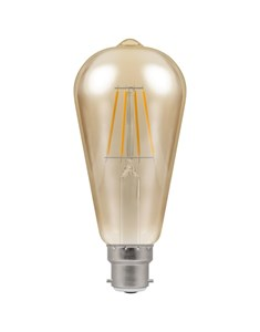 LED Filament Vintage Bulb BC-B22d - Antique Bronze | Fashion Bulb