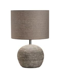 Maria Table Lamp | Grey Terracotta Table Lamp