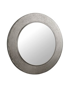 Mayra Mirror Shiny Nickel | Indian Artisan Mirror