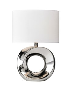 Polo Table Lamp - Chrome | Metallic Stylish Table Lamp