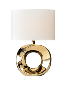Polo Table Lamp - Gold | Metallic Stylish Table Lamp