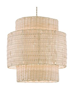 Tallulah Pendant Shade | Large Rattan Ceiling Shade