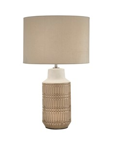 Textured Ceramic Table Lamp