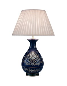 Sorrento Table Lamp Base | Navy Traditional Lamp Base