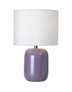 Fenda Table Lamp - Heather | Bedside Ceramic Table Lamp