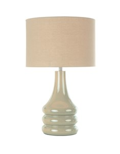 Raj Table Lamp - Putty | Grey Stylish Table Lamp